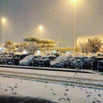 Neve a Roma immagini